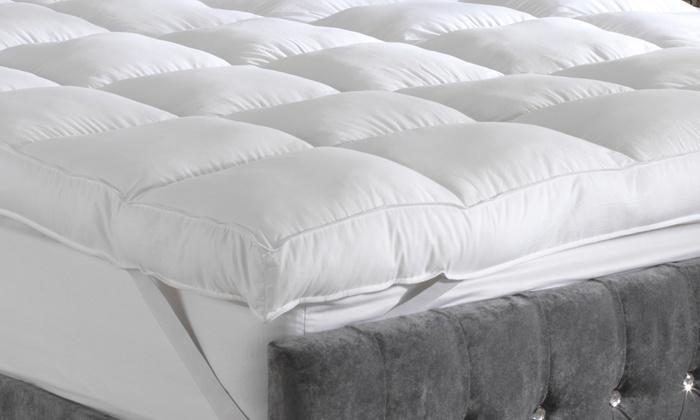 Sleeping On A Cloud Mattress Topper Groupon Goods