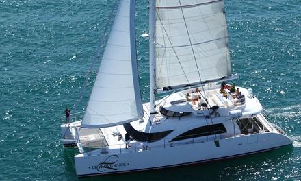 Balade ou matinée pêche en mer à bord du Maxi Catamaran Le Providence pour 2 ou 4 personnes dès 8 €