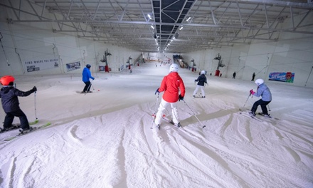 TwoHour Lift Pass for a Child, Student, Senior or One or Two Adults at Snow Factor