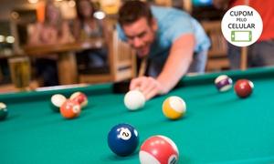 Caçapa's Snooker Bar: Caçapas Snooker Bar – Itapema: 1 ou 2 horas de sinuca (opção com porção)