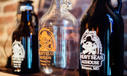 $12 for New American Cuisine and Beer Glassware at Heavy Seas Alehouse ($21 Value)