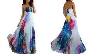 Robe Isabella longue florale