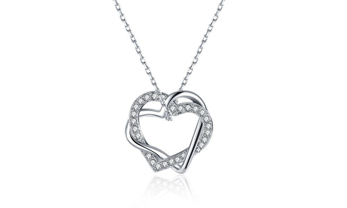 Up To 73 Off on Rubique Jewelry Heart Necklace LivingSocial Shop