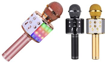 Microphone karaoké Bluetooth