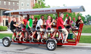 The Pint Cycle: Pint Cycle Public Tour for Two, Four, or Six on The Pint Cycle (Up to 51% Off)
