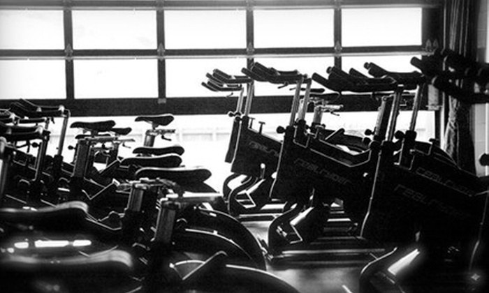 Hot Ryde - Roslyn: $59 for 10 Group Cycling, Barre, Yoga, and TRX Classes at Hot Ryde (Up to $250 Value)