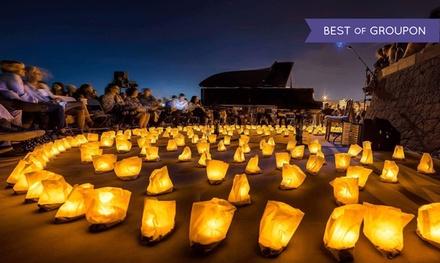 Entrada para el espectáculo 1 Piano & 200 Velas del 23 de junio al 1 de septiembre por 15 € en varios lugares