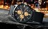 Breed Chronograph Armbanduhr mit Datum in der Farbe nach Wahl