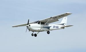 Aeroklub Śląski: Lot widokowy szybowcem nad Katowicami (259,99 zł) lub samolotem Cessna 172S (od 259,99 zł) z Aeroklubem Śląskim