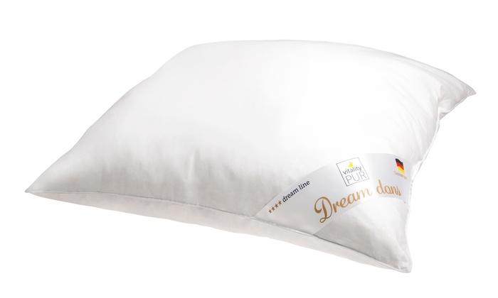 Vitality pur dons hoofdkussen groupon goods