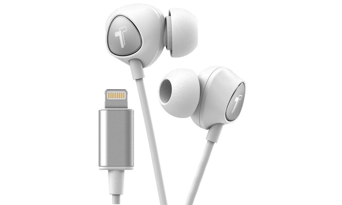 Up To 14 Off On Thore Lightning Wired Earbuds Groupon Goods