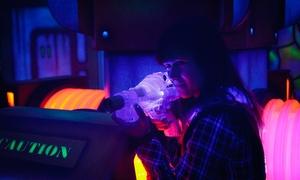 Shockers Lasertag: 2x Lasergame à 15 Min. inkl. Ausrüstung für 1-10 Personen bei Shockers Lasertag (50% sparen*)