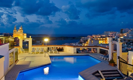 ✈ Malta: 3, 4, 5 or 7 Nights with Hydrotherapy Session and Spa Access at a Choice of 4* Hotels with Return Flights