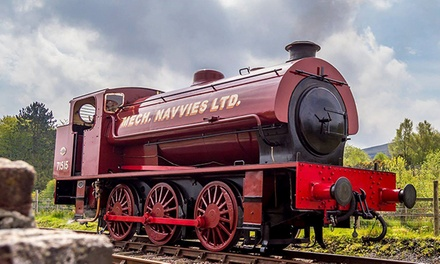 Steam Train Tickets for Two Adults or a Family of Five to Pontypool and Blaenavon Railway