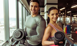 Synergy Fitness Clubs: Gym Membership for One or Two at Synergy Fitness Clubs (Up to 72% Off). Nine Locations Available.