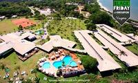 Porto Seguro Eco Resort /BA: até 7 noites para 2 adultos e 1 criança até 12 anos.