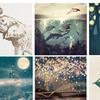 "22""x22"" or 18""x27"" Whimsical Fine Art Giclee Prints by Paula Belle"