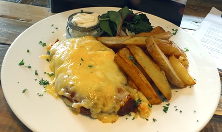 Chicken Parmesan for Two at The Hambletonian