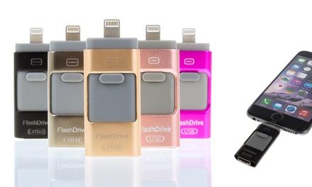 iFlash drive para iOS y Android disponible en diferentes colores y capacidades desde 14,90 € (hasta 57% de descuento)