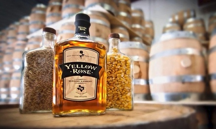 One-Hour Distillery Tour for Two, Four, or Six at Yellow Rose Distilling (Up to 62% Off)