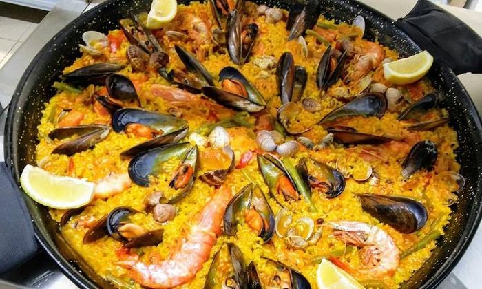 Menu Con Paella Di Pesce E Sangria Anzio Ristorante Los Hermanos