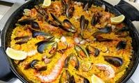 Menu con tapas a scelta, paella di pesce e sangria per 2 o 4 persone al ristorante Los Hermanos, lungomare di Anzio