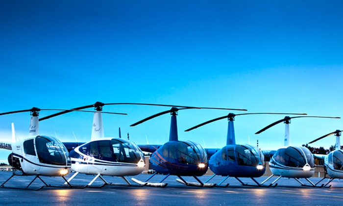 C-R Helicopters - Northwest Nashua: One or Three Private Flying Lessons with Ground School and Hands-On Flights from C-R Helicopters (Up to 48% Off)