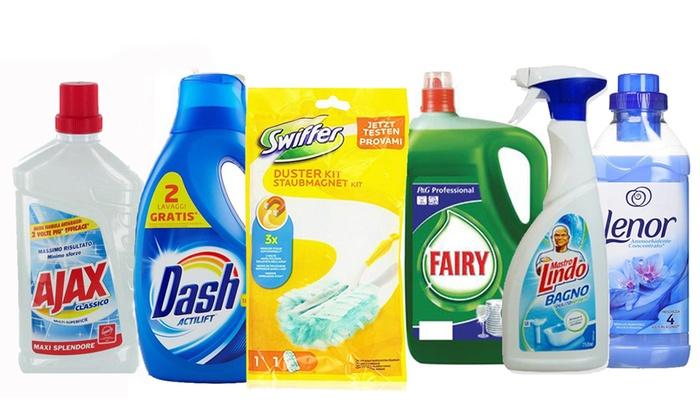 Kit per pulizia della casa groupon goods - Prodotti pulizia bagno ...