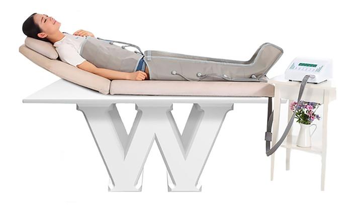 jusqu 39 56 appareil de pressoth rapie groupon. Black Bedroom Furniture Sets. Home Design Ideas
