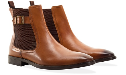 Redfoot Leather Chelsea Boots
