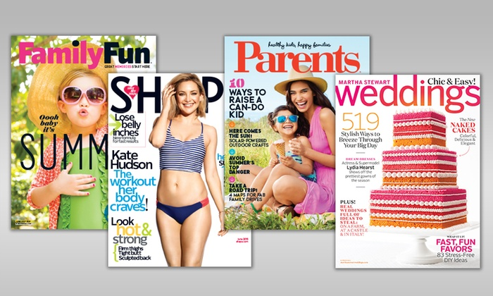1- or 2-Year Subscription to Your Choice of Health and Lifestyle Magazines (Up to 50% Off). 13 Options Available.