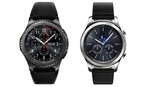 Samsung Gear S3 Smartwatch Frontier or Classic (Refurbished)