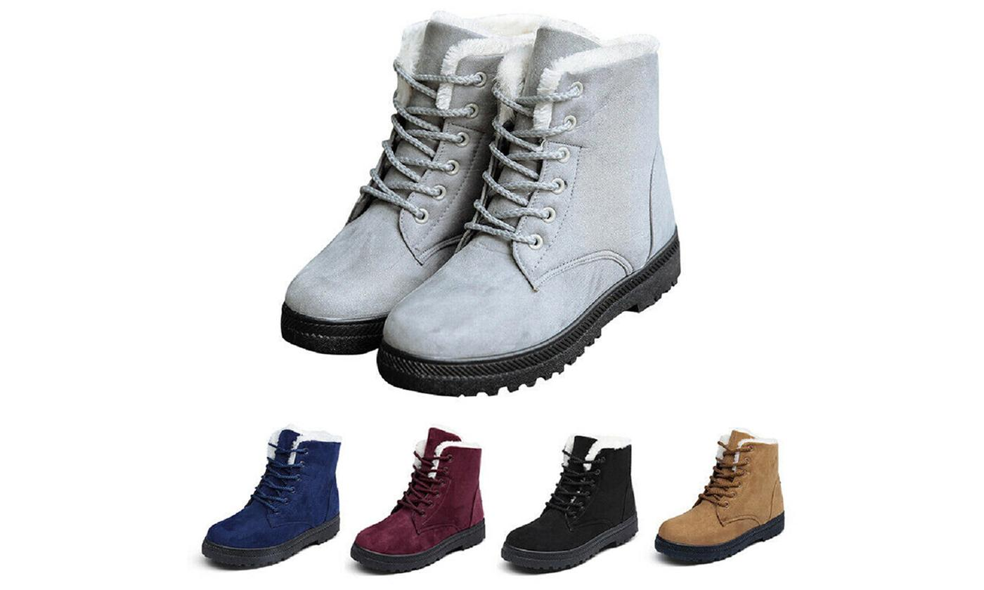 Women's Thermal Lace Boots