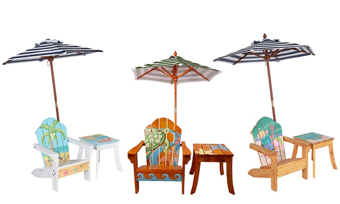 Teamson Kids Outdoor Table And Chair Sets