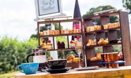 Gentleman's or Sparkling Afternoon Tea for Two or Four at Woodfordes Brewery