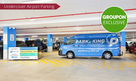 $2 % Off Undercover Airport Parking with On Demand Shuttle Transfer at Park on King