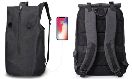 Apachie Grid Backpack with USB