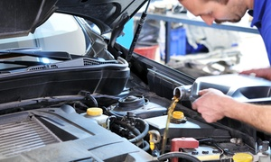 A & S Auto Service: Standard or Synthetic Oil Change with Heating Check for One or Two Cars at A & S Auto Service (Up to 57% Off)