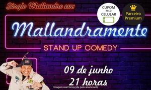 Sport Club Corinthians Paulista: Sérgio Mallandro em Malandramente - Teatro Omni Corinthians: ingresso para setor VIP ou plateia dia 9 de junho, às 21h