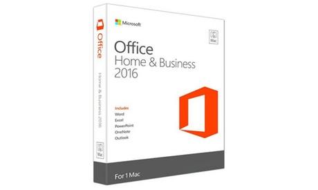 Office 2016 Home & Business para Mac
