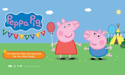 Peppa Pig Playdate Tickets .90 Melbourne 29 Jun 7 Jul 2019 and Sydney 13 21 Jul 2019