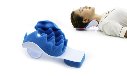 Neck And Shoulder Relax Pillow Groupon