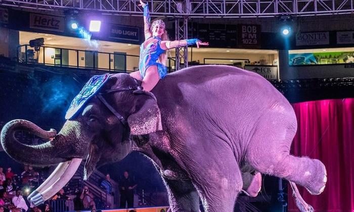 Garden Bros Circus In Perry Ga Groupon