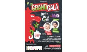 Juste Pour Rire France: 2 places pour le Grand gala Juste Pour Rire dès 10 €