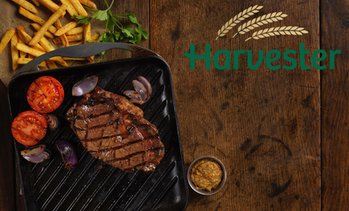 Harvester: Two-Course Dinner