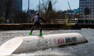 Glasgow Wakepark: 30-Minute Wakeboarding Lesson for One or Two at Glasgow Wakepark (Up to 59% Off)