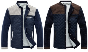 Blouson homme col rond Willy
