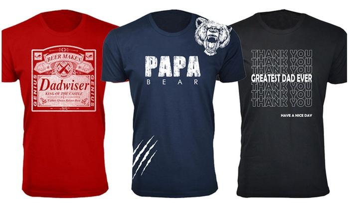 2125f1ac8 Up To 63% Off on Men's Father's Day T-Shirts | Groupon Goods