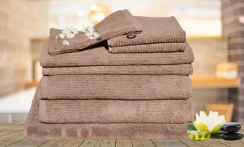 8-Piece Egyptian Cotton Towel Set