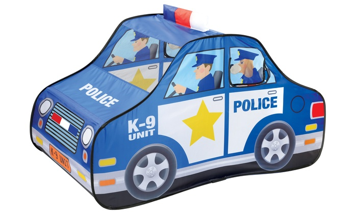 Pop Open Police Car Tent Groupon Goods
